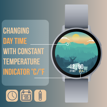 Gear S2/S3/Sport watchface