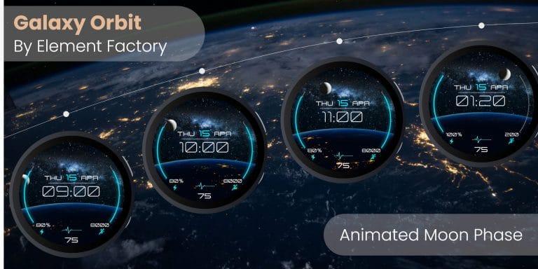 Galaxy Watch animated watchface